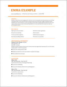 2019 Perfect Resume builder | Download Easily ...