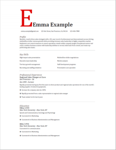 Perfect Resume Templates | build perfect resumes ...