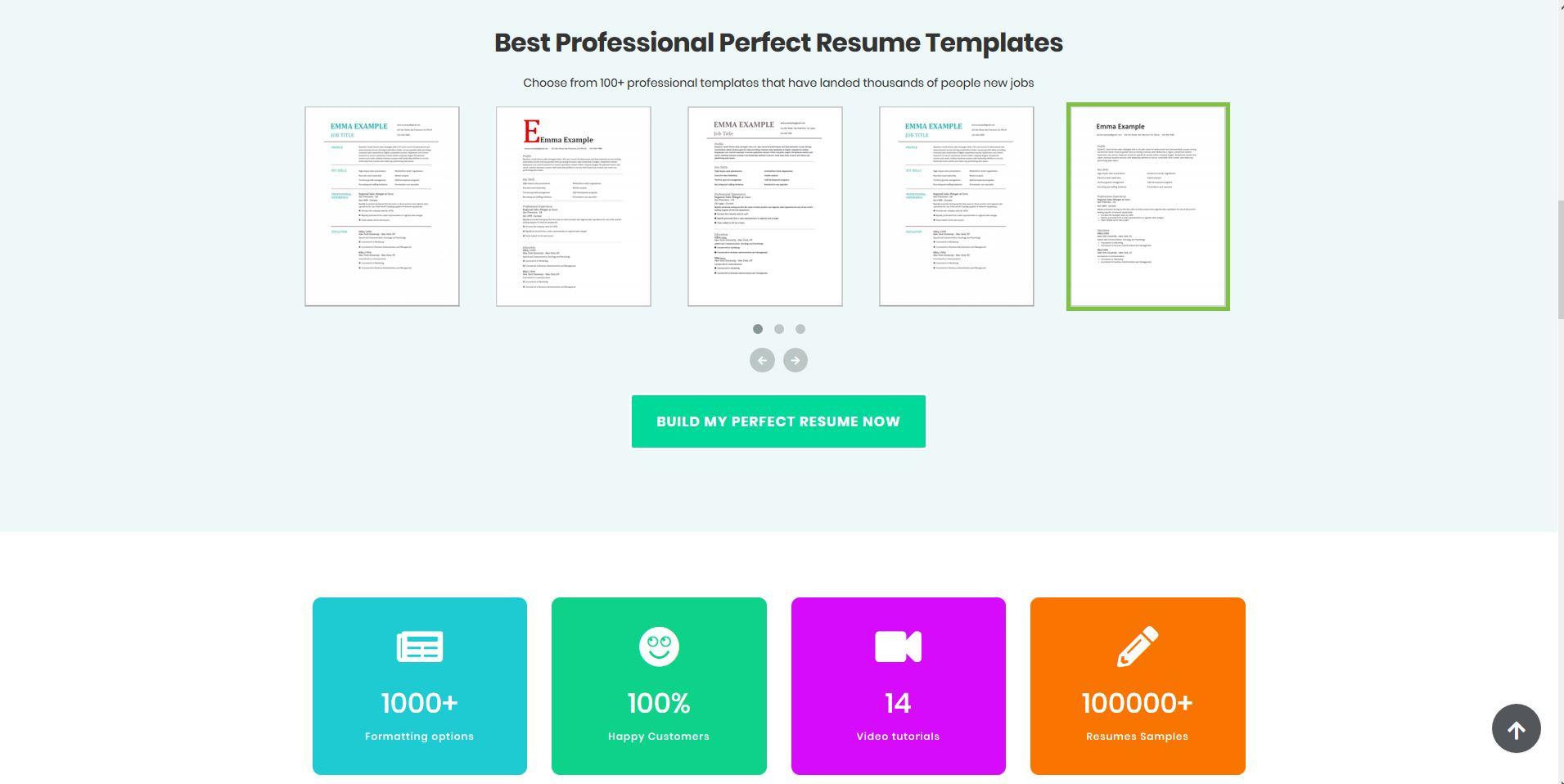 Perfect Resume Templates
